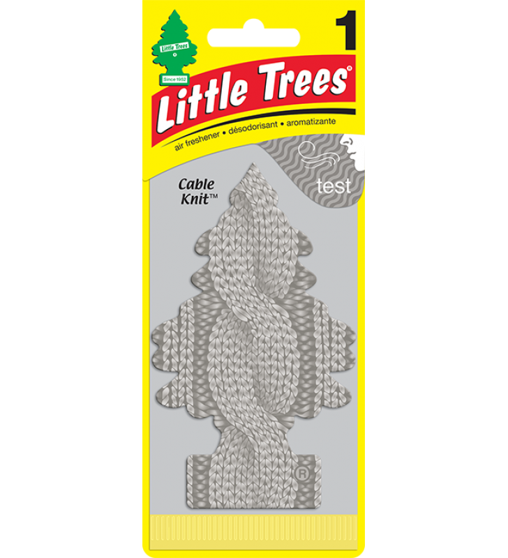 Little Trees - Cable Knit (1 pack)