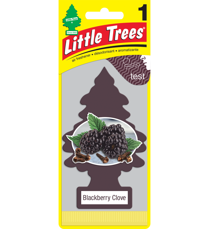 Little Trees - Blackberry Clove (1 pack)
