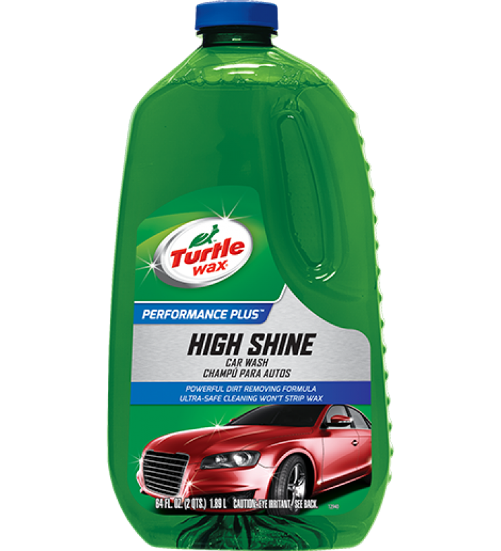Turtle Wax High Shine Car Wash - 64oz