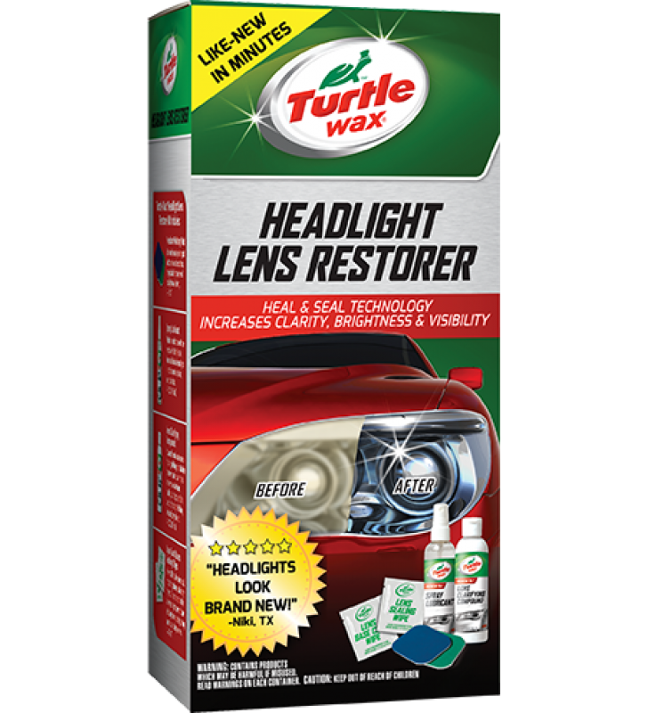 Turtle Wax Headlight Lens Restores Kit