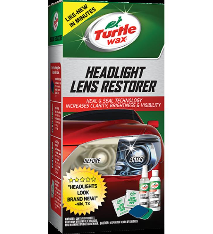 Turtle Wax Headlight Lens Restores Kit