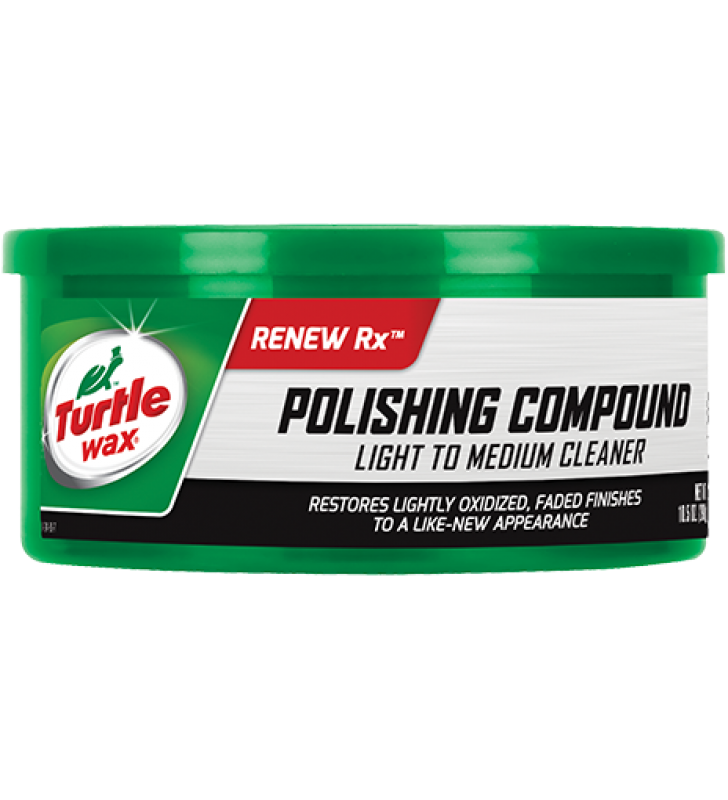 Turtle Wax Polishing Compound Light to Medium Cleaner - 10.5oz