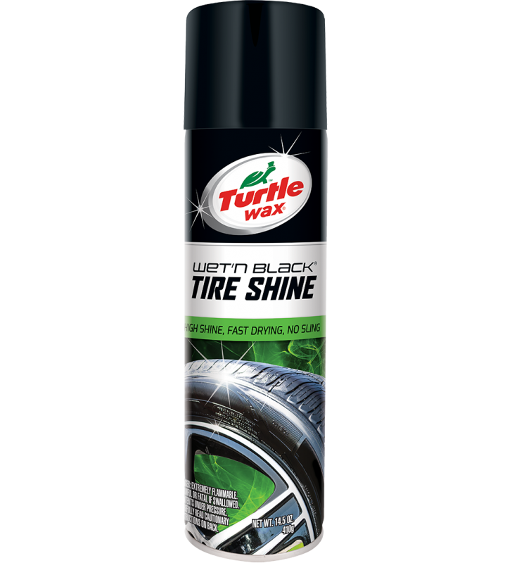 Turtle Wax Wet'n Black Tire Shine - 14.5oz