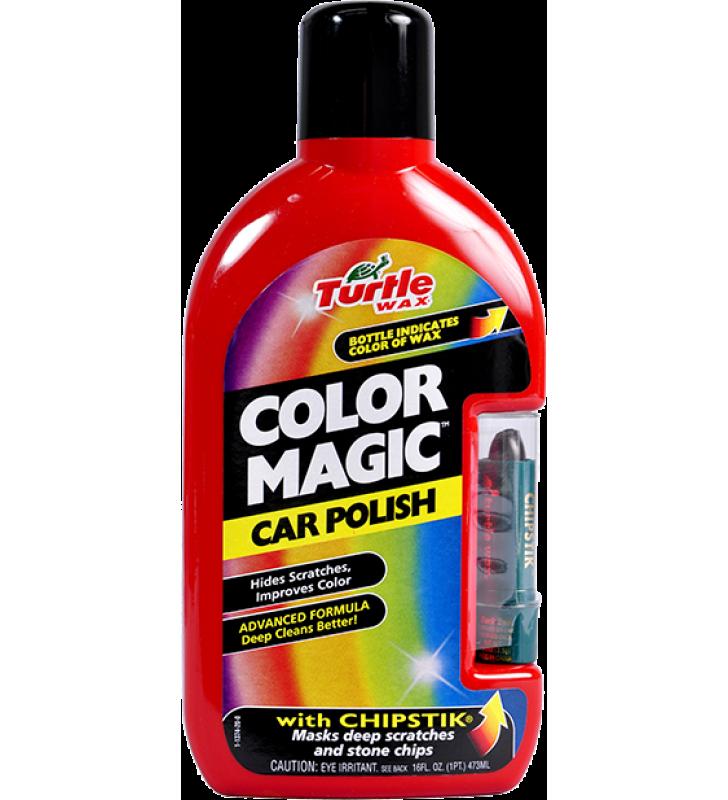 Turtle Wax Color Magic Car Polish (Red) - 16oz
