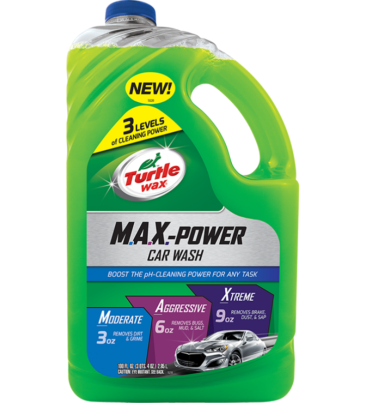 Turtle Wax M.A.X. Power Car Wash - 100oz