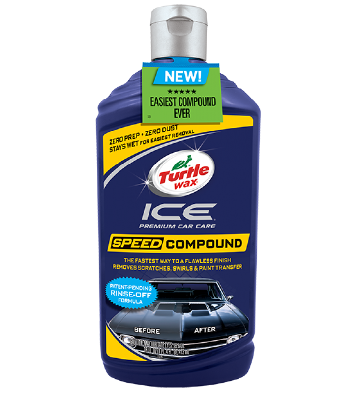 Turtle Wax Ice Speed Compound - 16oz