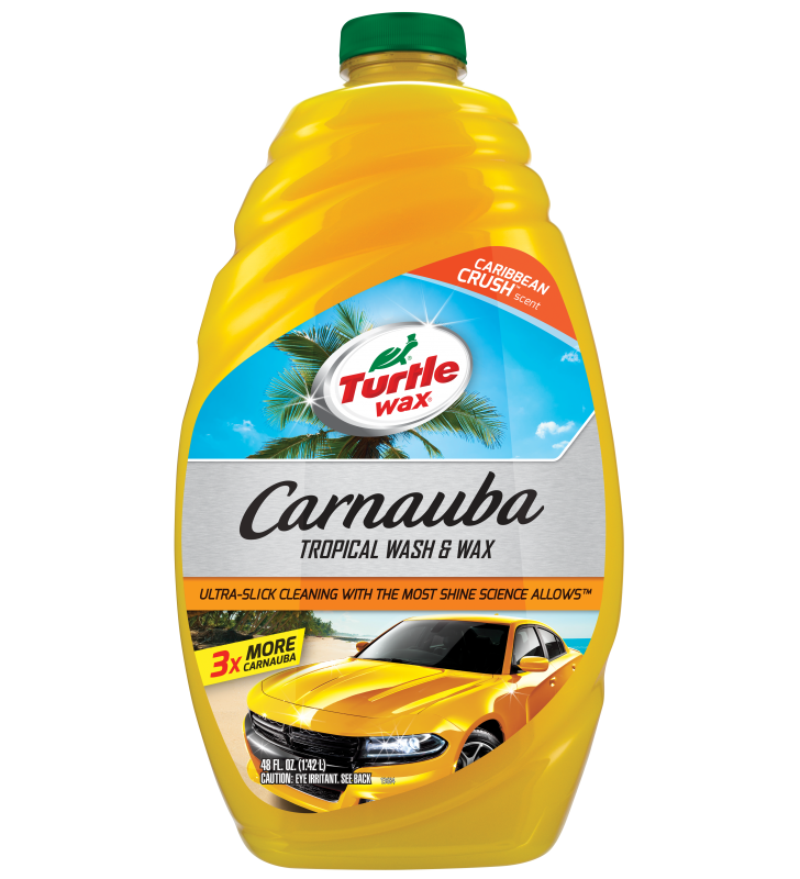 Turtle Wax Carnauba Tropical Wash & Wax - 48oz
