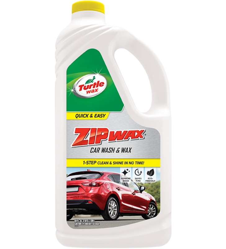 Turtle Wax Zip Wax Car Wash & Wax - 64oz