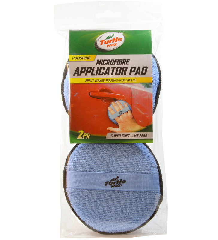 Turtle Wax Microfibre Applicator Pads (2pk)
