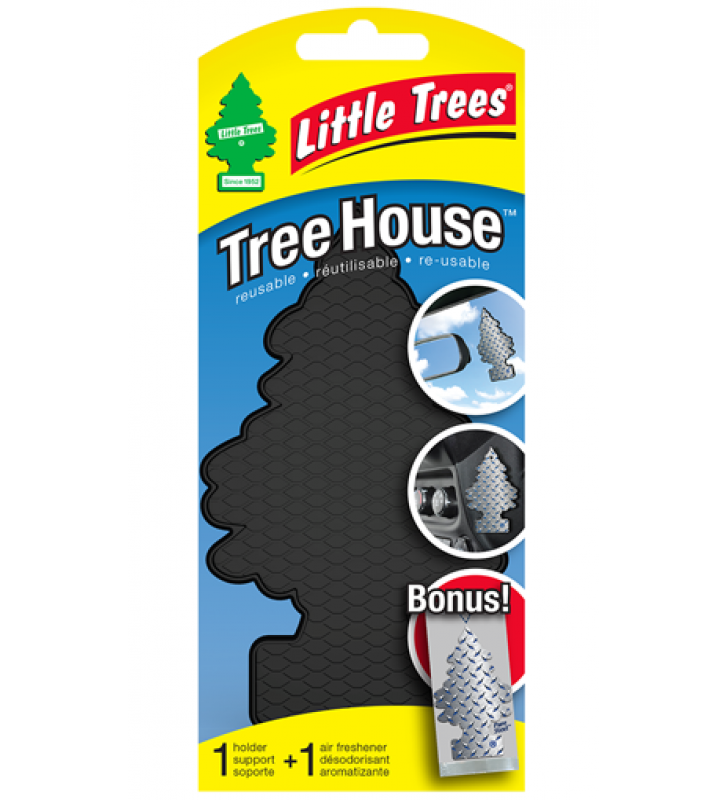 Little Trees Tree House - Black