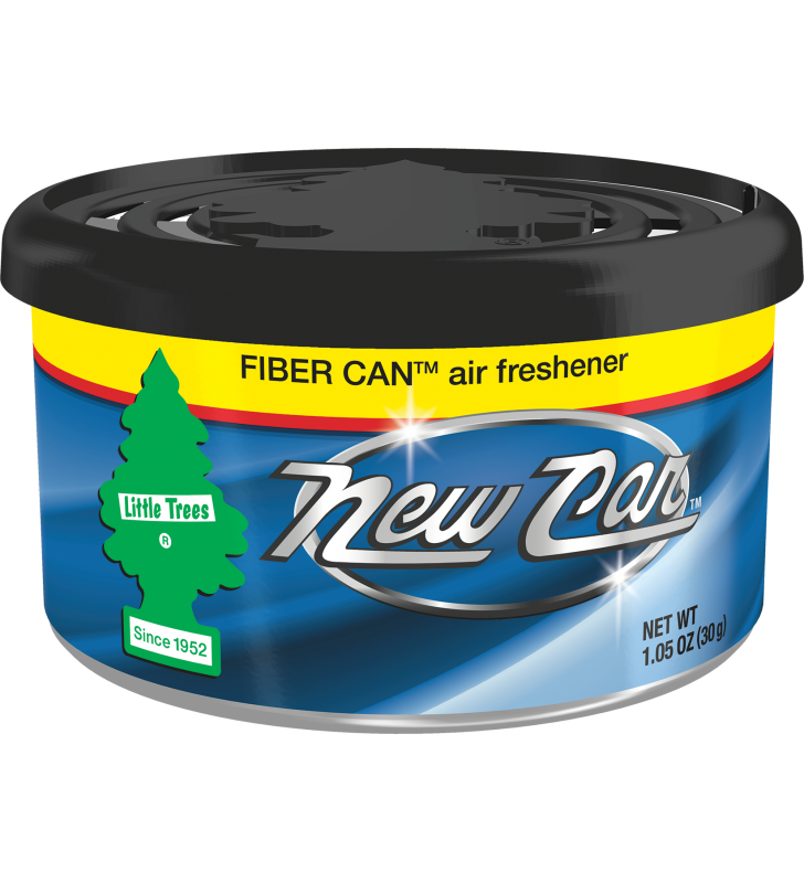 Little Trees Fiber Can - New Car Scent
