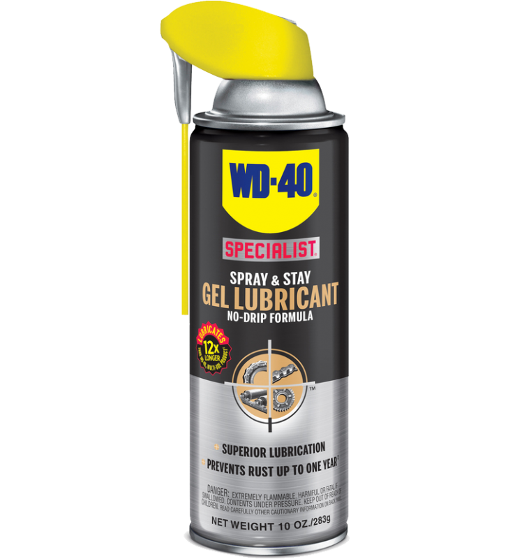WD-40® SPECIALIST Spray & Stay Gel Lubricant - 10OZ