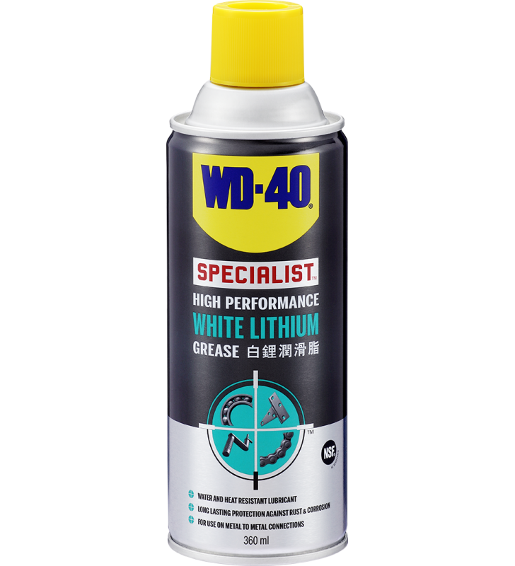 WD-40® SPECIALIST High Performance White Lithium Grease - 360ml