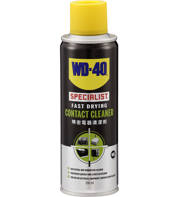 WD-40® SPECIALIST Fast Drying Contact Cleaner - 200ml