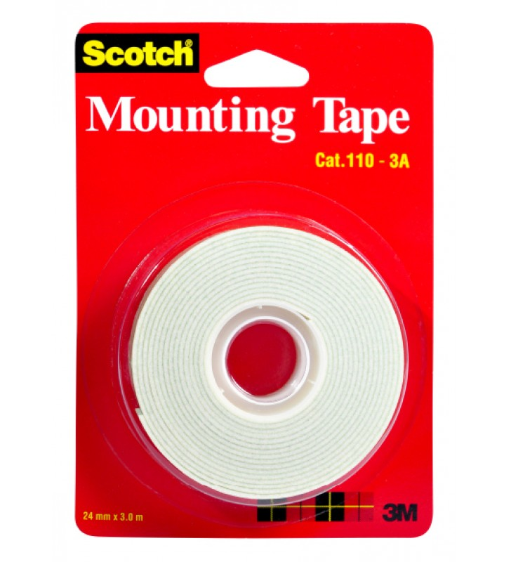 "3M Scotch® 110-3A Mounting Tape - 1"" x  3m"