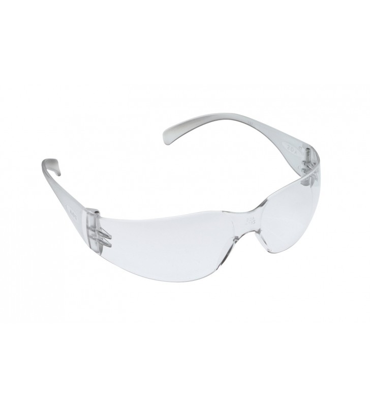 3M™ Virtua™ Protective Eyewear 11326 Clear Temples Clear Hard Coat Lens