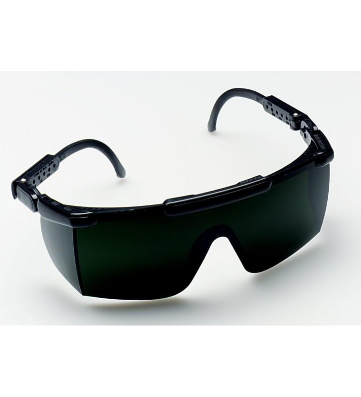 3M™ Nassau Rave™ Protective Eyewear 14460 Shade 5.0 IR Lens, Black Frame