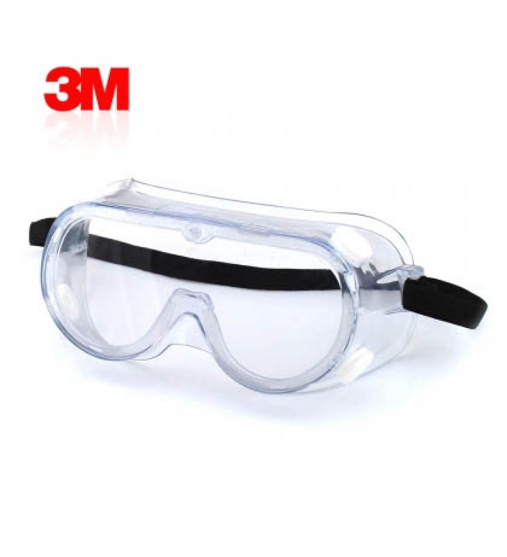3M 1621 Polycarbonate Safety Goggles for Chemical Splash