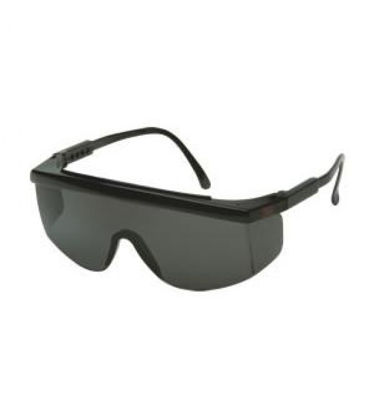 3M 1712 Safety Spectacles - Black Frame, Smoke Lens