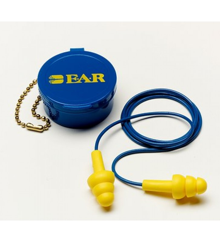 3M™ E-A-R™ UltraFit™ Earplugs 340-4002, Corded, Carrying Case