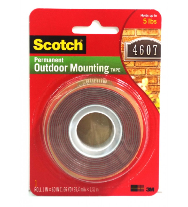 "3M Scotch® 4011 Exterior Mounting Tape (Super Strong) - 1"" x 60"""