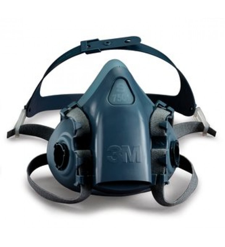 3M™ 7502 Half Facepiece Reusable Respirator (Medium)