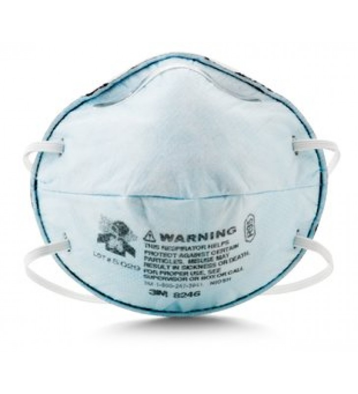 3M 8246 R95 Particulate Respirator with Nuisance Level Acid Gas Relief (20pcs/box)