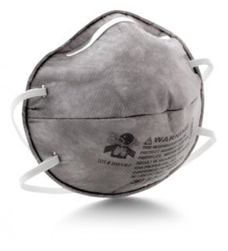 3M 8247 R95 Particulate Respirator with Nuisance Level Organic Vapor Relief (20pcs/box)