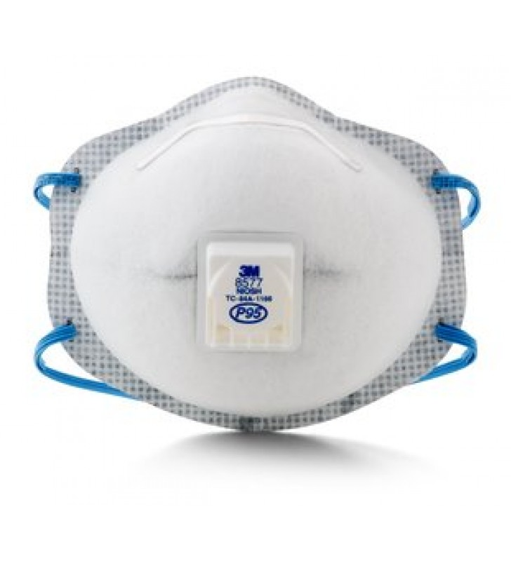 3M 8577 P95 Particulate Respirator with Nuisance Level Organic Vapor Relief (10pcs/box)