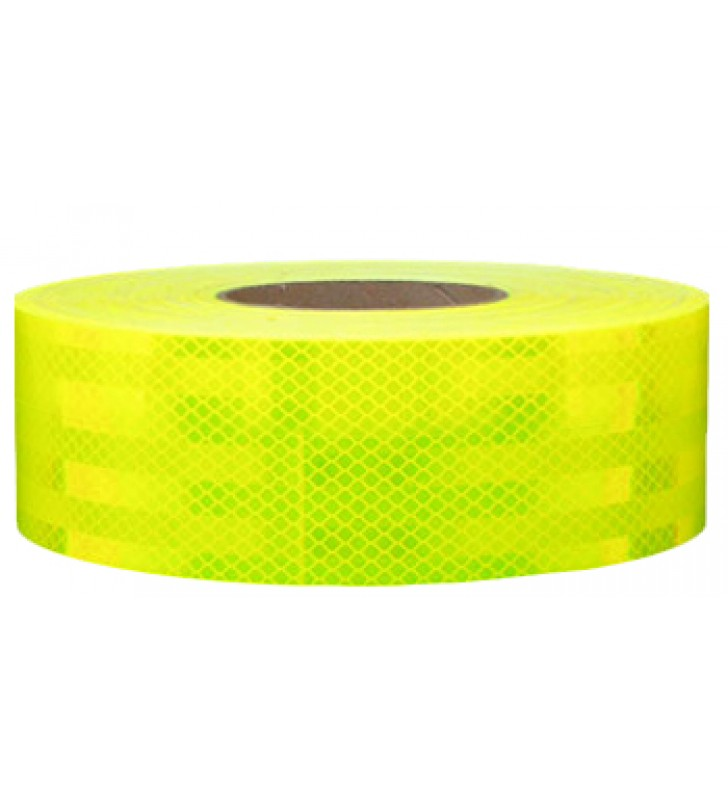 "3M™ Diamond Grade™ Conspicuity Markings Series 983 Fluorescent Yellow/Green 2"" x 50yds"