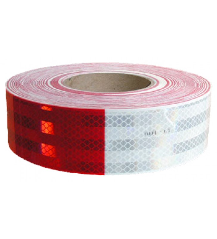"3M™ Diamond Grade™ Conspicuity Markings Series 983 White/Red 2"" x 50yds"