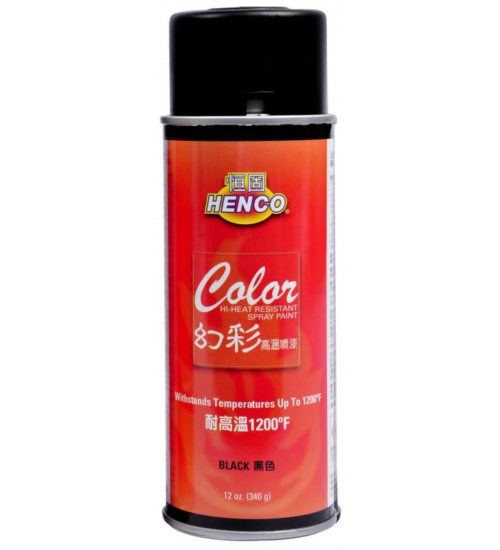 HENCO COLOR - High Temperature Spray Paint (Black)